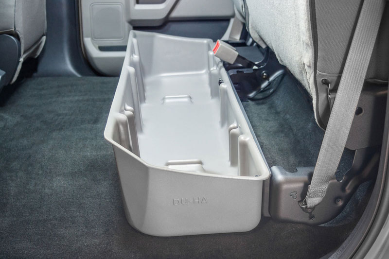 F150 Under Seat Storage >> 2015-2018 F150 Super Crew DU-HA Underseat Storage Unit/Gun Case DH-2011
