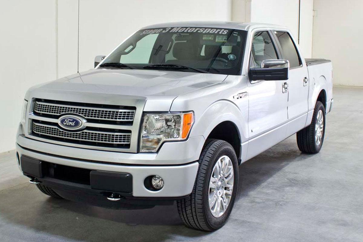 Stage 3's 2011 F150 EcoBoost XLT 2WD Project Truck