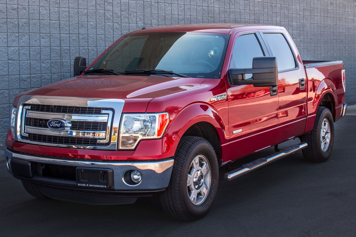 Stage 3's 2013 F150 EcoBoost 2WD Project Truck