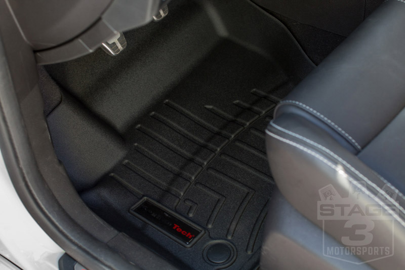 2013 2016 Focus St Weathertech Digital Fit Black Front