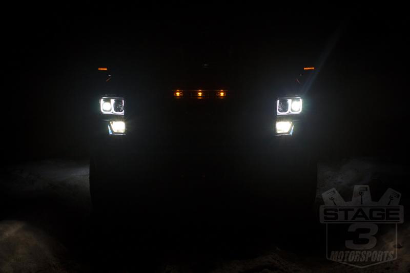 2013-2014 F150 Custom Auto Works Raptor Style LED Amber ...