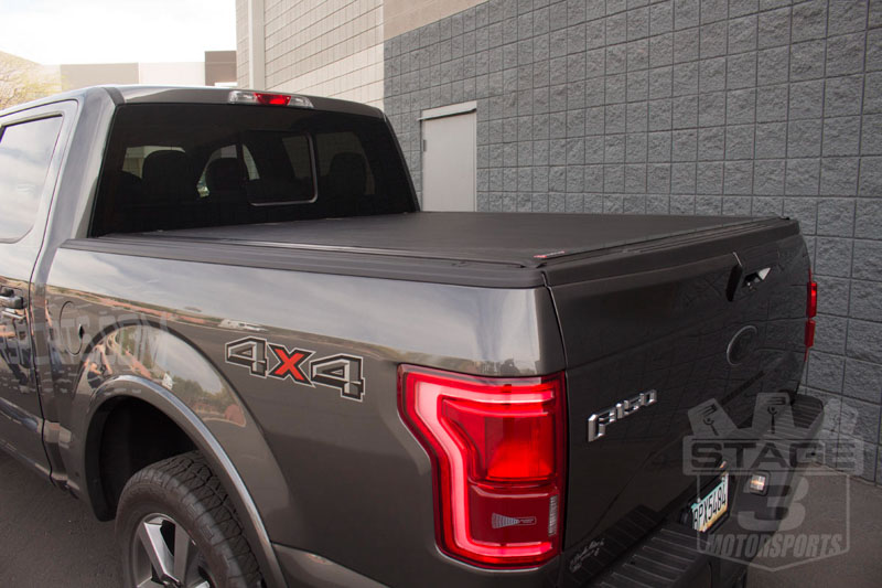 2015-2016 F150 BakFlip VP Installed on a 2015 F150