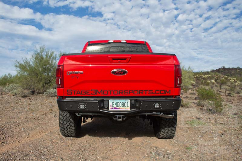2015 F150 3.5L EcoBoost with a Rogue Racing Revolver Rear off-Road Bumper