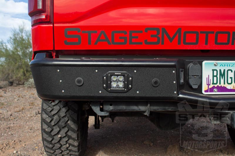 Rogue Racing 2015 Off Road Bumpers Installed On Our 2015