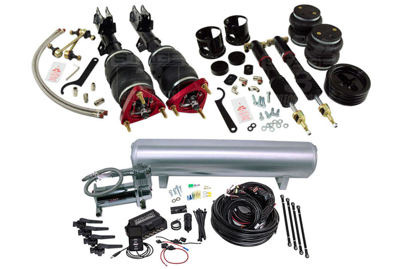 2015-2016 Mustang Air Lift 3H Complete Air Suspension System