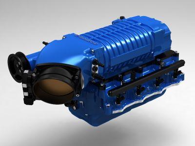 2015mustangwhipplesuperchargerkitblue2  Triton Engine Diagram on