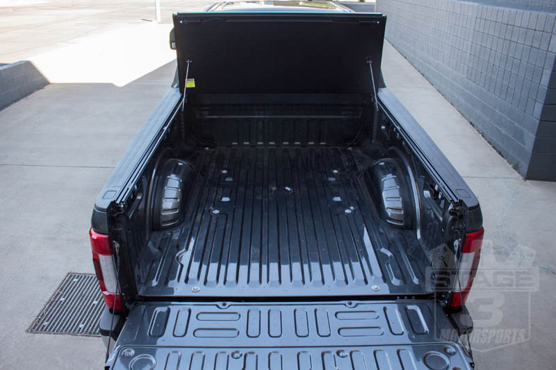 undercover flex tonneau fold tri duty super truck parts stage project covers accessories performance f250 bed installed stage3motorsports