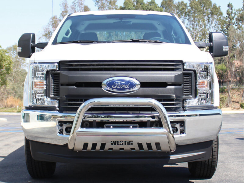 2017 2018 F250 Amp F350 Westin E Series Bull Bar Stainless
