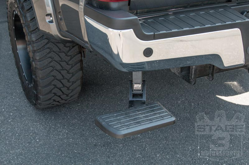 Truck Bed Step >> 2017-2018 F250 & F350 AMP Research BedStep 75313-01A