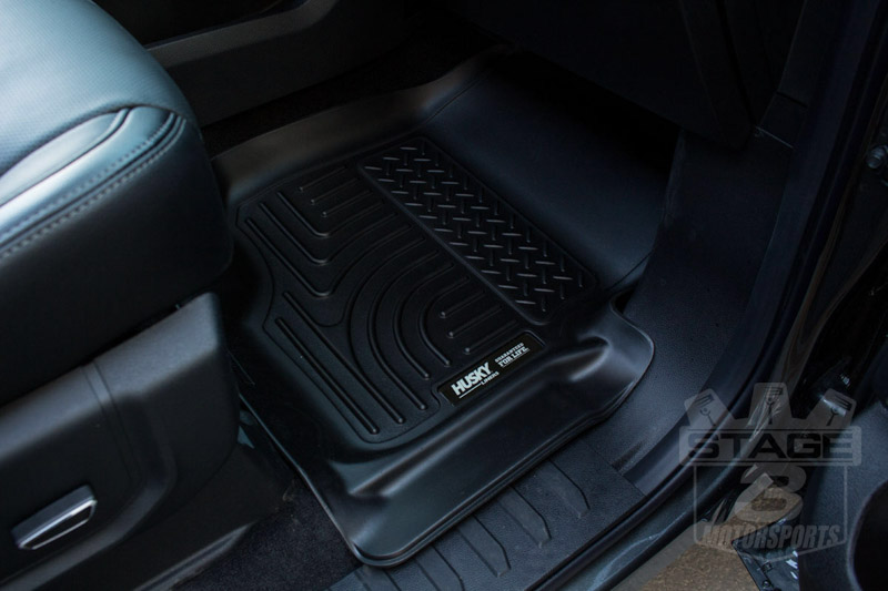 ... Husky Liners WeatherBeater Front Floor Liners (Black). Hover To Zoom