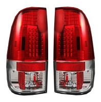 1997-2003 F150 Recon Lighting LED Tailights (Red)