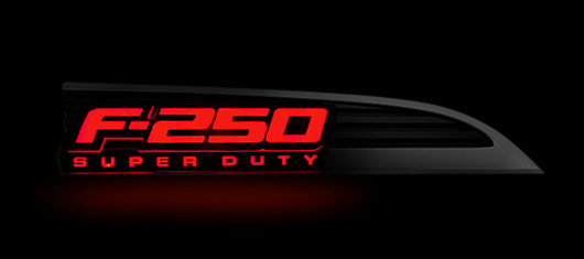 264285rd 2011 2016 f250 recon illuminated side emblems 264285 Lighted Ford Logo at bayanpartner.co