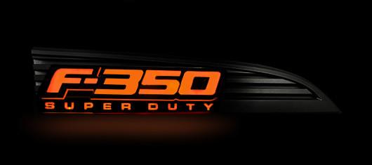 2011 2016 F350 Recon Illuminated Side Emblems 264286