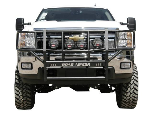Pickup Brush Guard : F road armor front brush guard grille