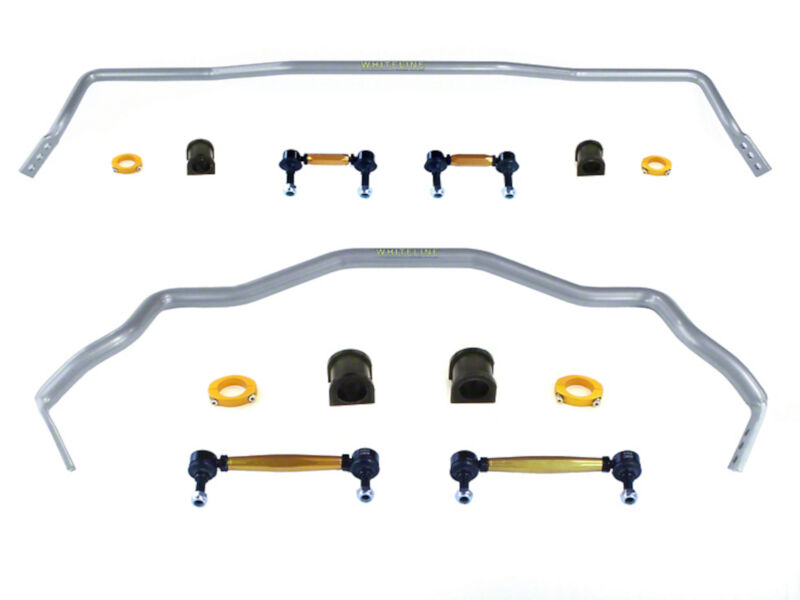 2015 Mustang Whiteline Performance Front & Rear Sway Bars