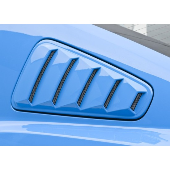 2010-2014 Mustang 3dCarbon Window Louvers