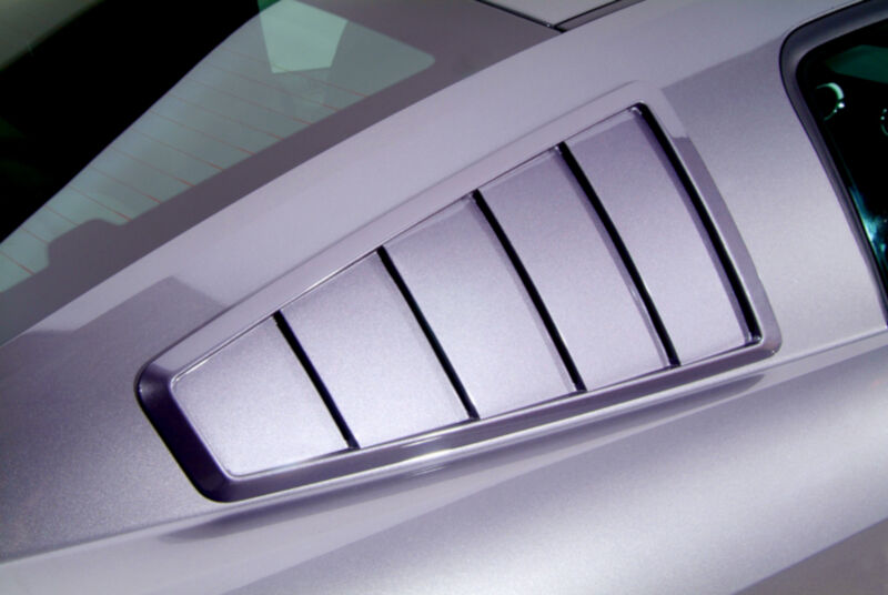 2010-2014 Mustang GT / V6 Cervini's '65 Style Quarter Window Louvers
