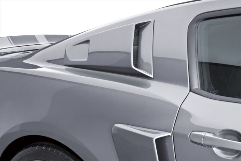 2010-2014 Mustang Cervini's C-Series Quarter Window Scoops