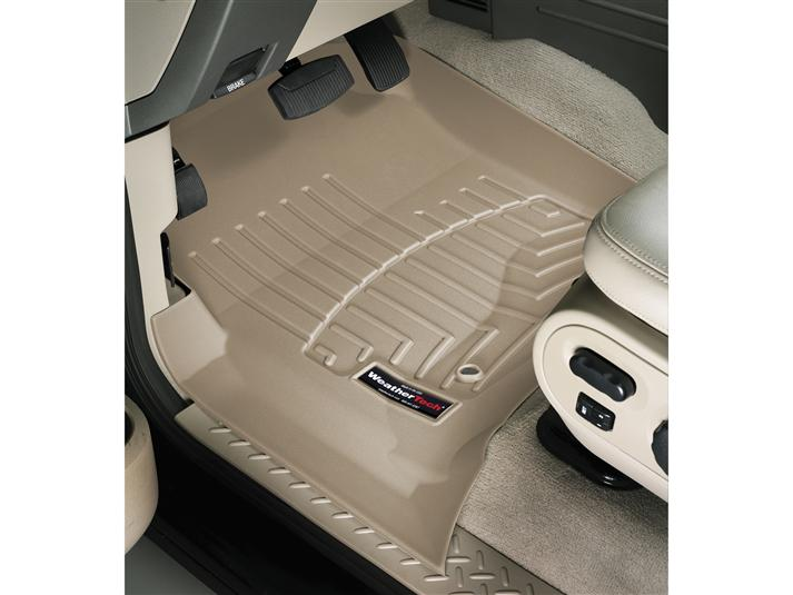 2004 2008 F150 Crew Cab Weathertech Front Amp Rear Floor