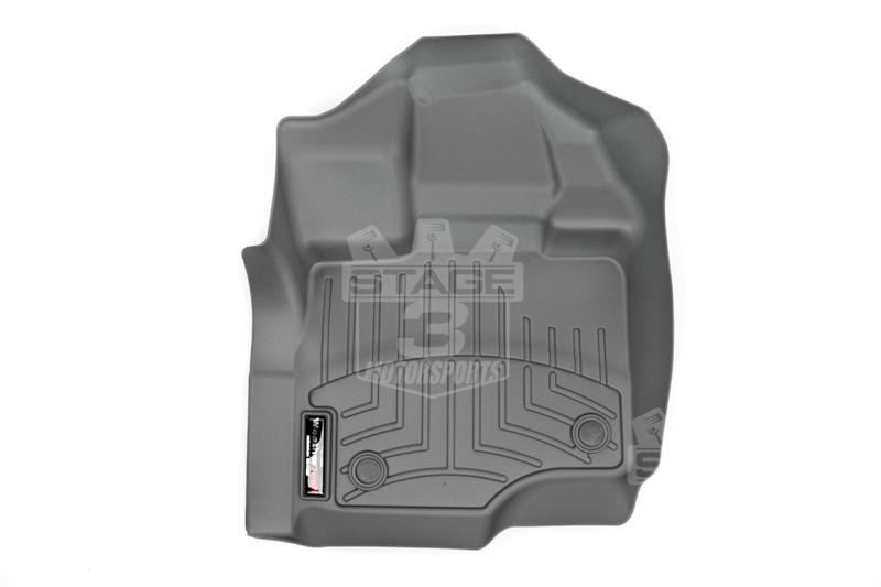 2015 2018 F150 Weathertech Front Floor Liner Digital Fit Grey 466971