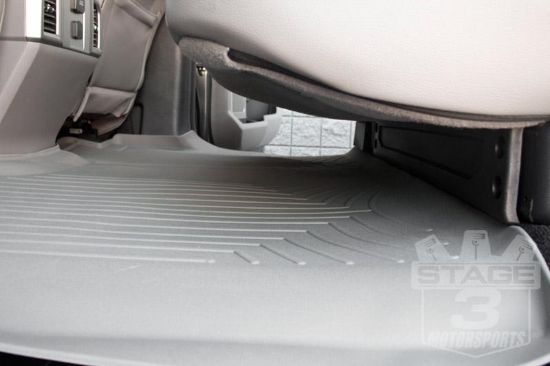 2015-2017 f150 crew cab weathertech floor liner digital fit (grey