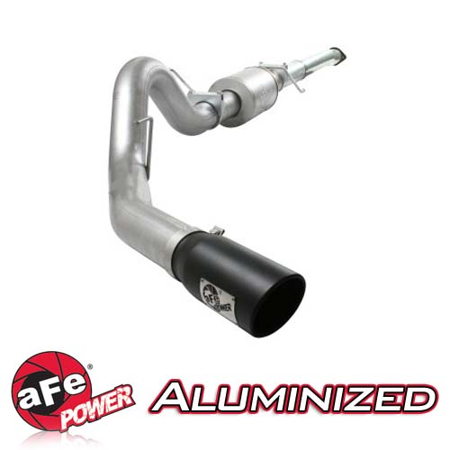 "2011-2014 F150 EcoBoost 3.5L AFE ATLAS 4"" Cat Back Exhaust Kit (Aluminized)"