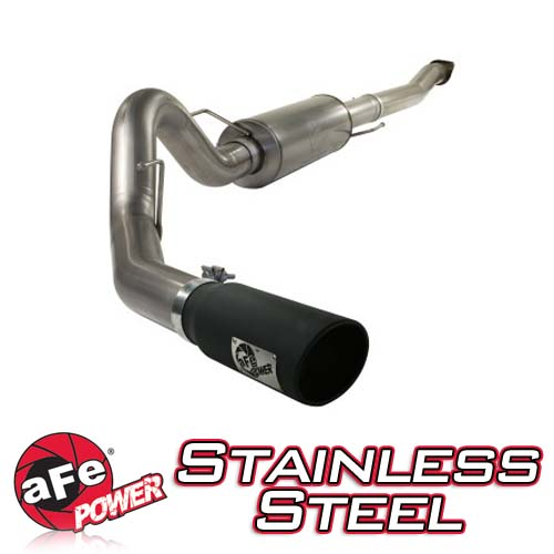 2011-2014 F150 EcoBoost 3.5L AFE Mach Force XP 4 Inch Cat Back Exhaust System - Stainless Steel