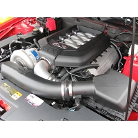 2011-2014 Mustang GT 5.0L Vortech Complete Supercharger Kit (Satin)