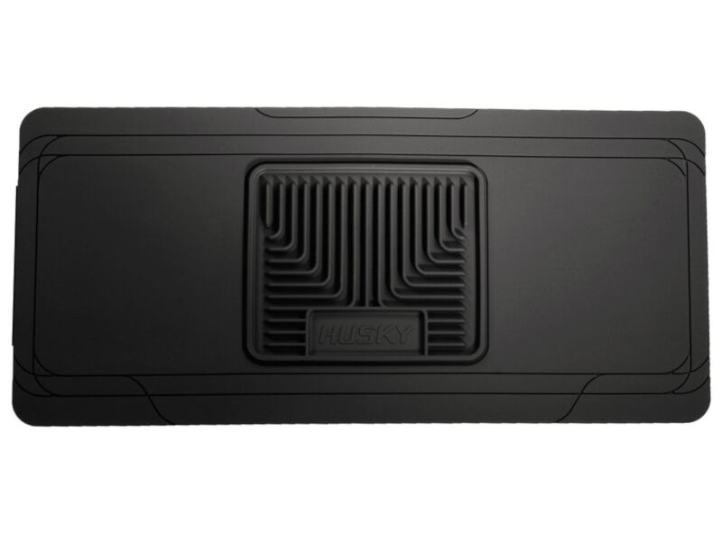 f150 husky liners front center hump floor liner black
