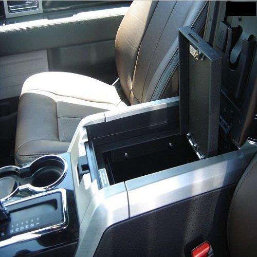 Ford F150 Console Gun Vault
