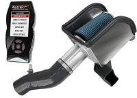 2011-2014 Mustang V6 Steeda ProFlow Cold Air Intake Kit w/ Tuner
