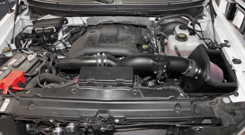 2011 2014 ford f150 3 5l ecoboost k n 57 series cold air intake 57 2583