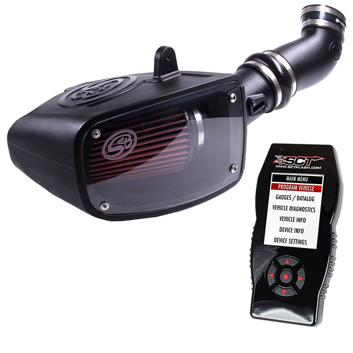 2011-2014 F250/F350 6.7L Phase 1 Kit - Cold Air Intake, Tuner & 3 Custom Tunes