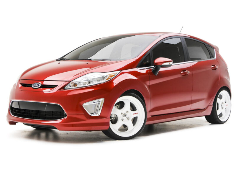 20142017 Fiesta ST 3dCarbon 5pc Polyurethane Body Kit w Spoiler
