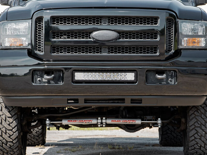 2005 2007 F250 Amp F350 Rough Country Black Series 20 Quot Led