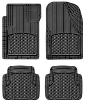 1999-2004 Mustang WeatherTech AVM Black Universal Floor Mats (Trim-To-Fit)
