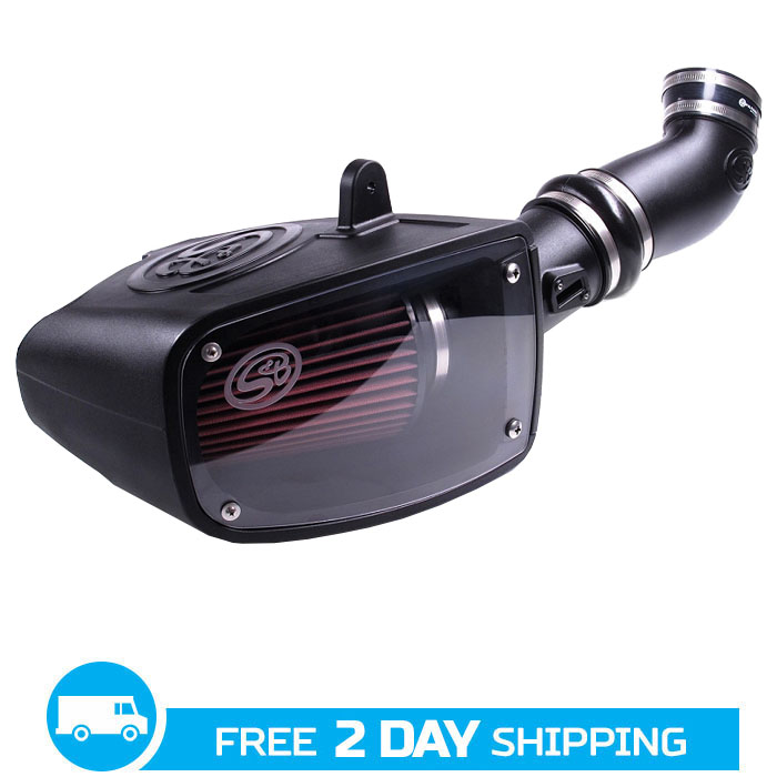 2011-2015 Super Duty F250/F350 6.7L Diesel S&B Cold Air Intake System (Cotton Filter)