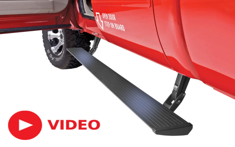2015 Ford F150 AMP Research Powerstep Running Boards