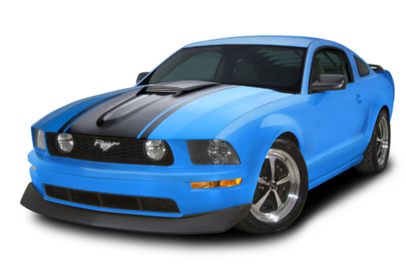 2005 2009 mustang cervini 39 s m1 hood kit 8020. Black Bedroom Furniture Sets. Home Design Ideas