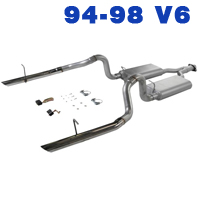 1995 Mustang V6 Exhaust Parts