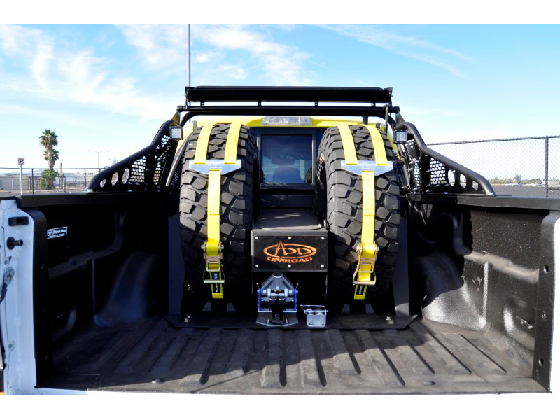svt raptor add race series  chase rack  tire carrier