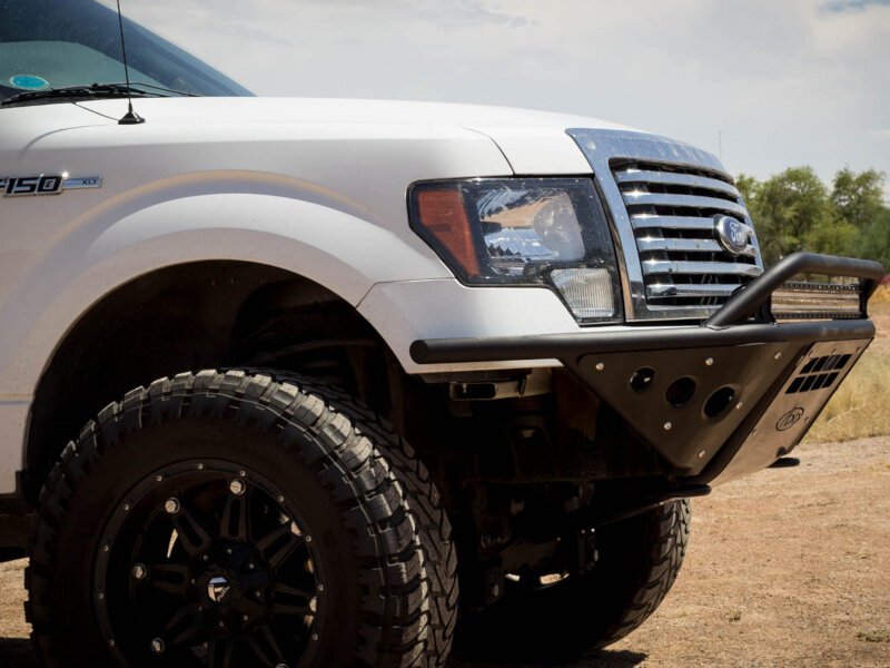 2009 2014 F150 Add Stealth Paneled Front Off Road Bumper