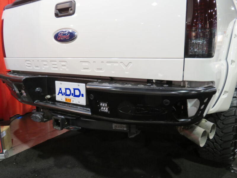 1999 2016 Super Duty Add Rear Dimple Bumper With Backup