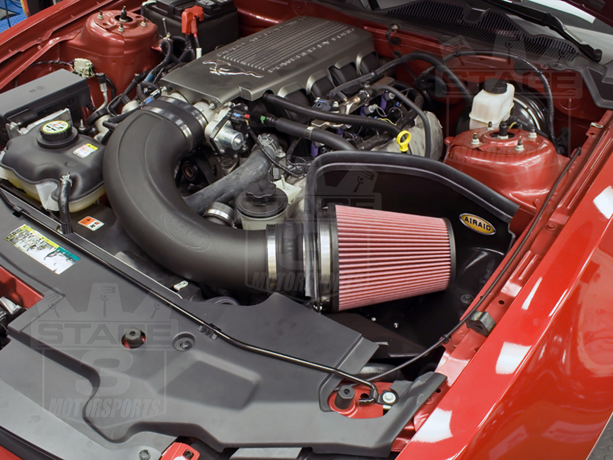2010 mustang gt 4 6l airaid synthaflow mxp cold air intake oiled 450 238