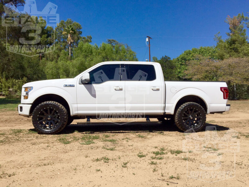 2015 F150 Lifted >> 2015-2018 F150 AMP Research PowerStep Plug-N-Play Running ...