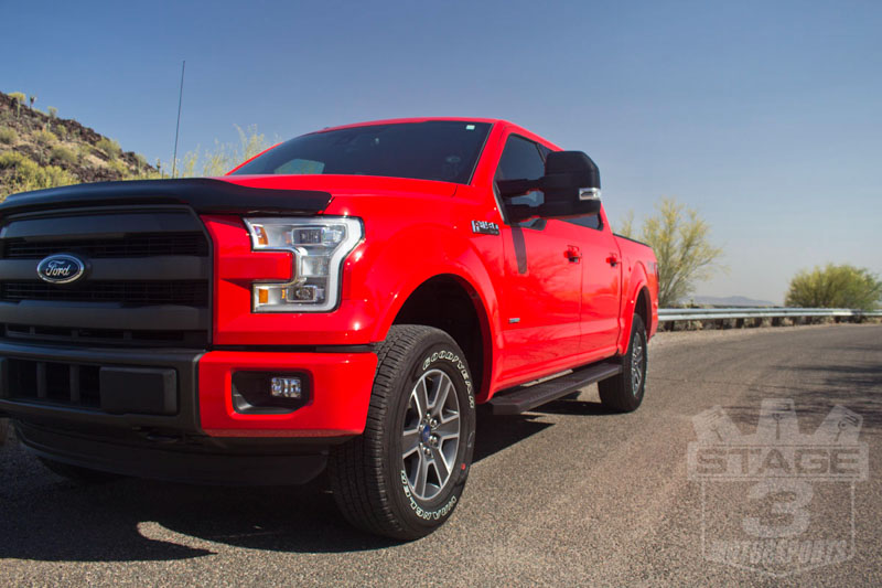2015 f150 auto spring 2 inch leveling kit installed