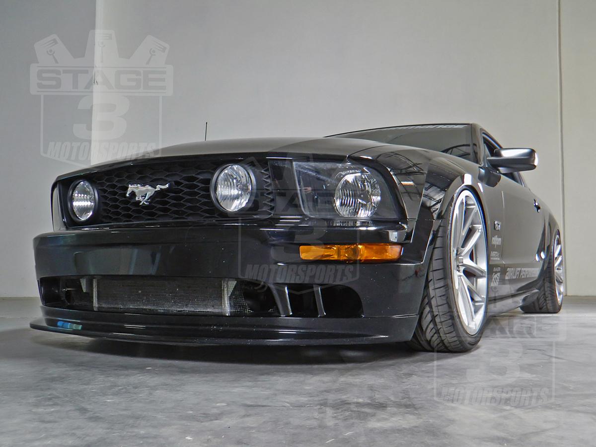 Mustang Air Lift Suspension System Installed Med on 2000 Ford Ranger 3 0 V6