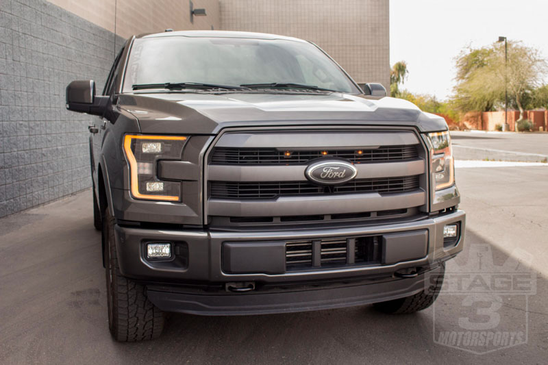 2015 2017 F150 Lariat Custom Auto Works Raptor Style Led