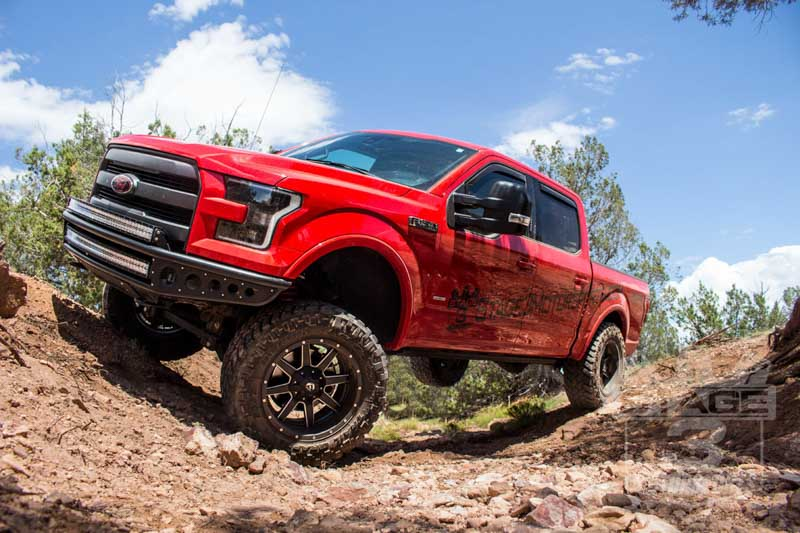 2015-2016 F150 Zone 6-Inch Boss Coilover Lift Kit