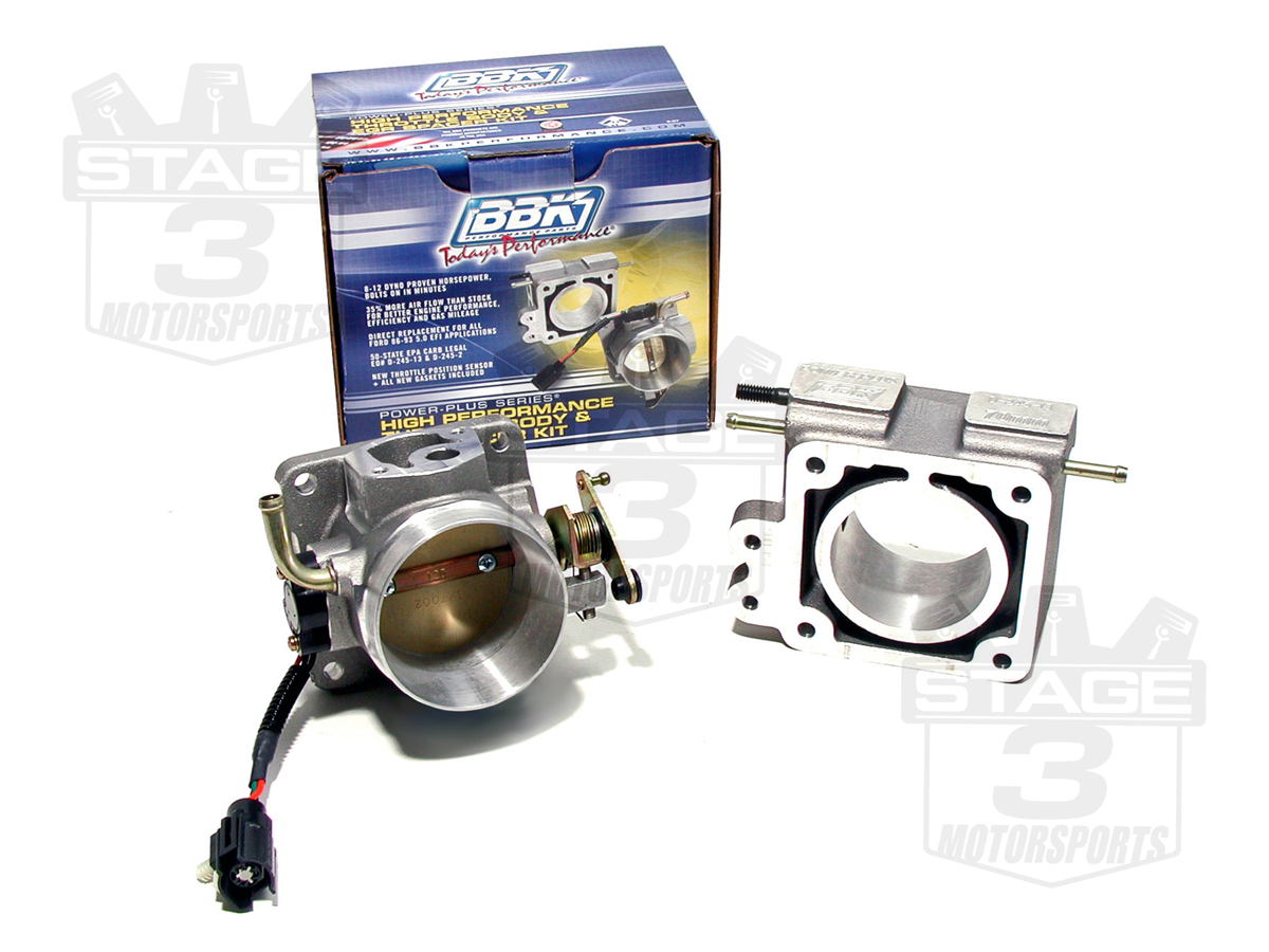 BBK Throttle Body & EGR Spacer Kit
